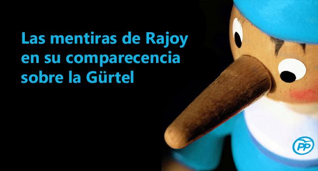 Mentiras de Rajoy