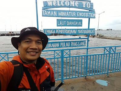 Taman Miniatur Ekosistem di Pulau Panggang, Kepulauan Seribu.
