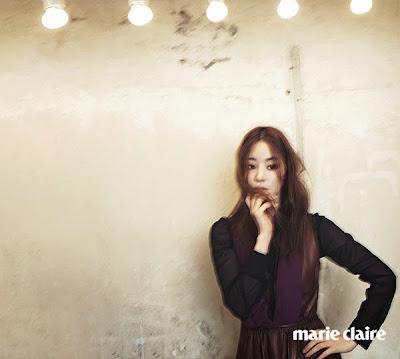 Han Ji Hye - Marie Claire Magazine November Issue 2014