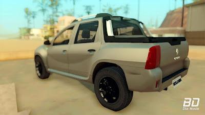 Download do mod pickup Renault Duster Oroch 2015 para o jogo GTA San Andreas PC, Você pode baixar esse mod de graça !