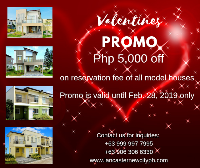 Valentines Promo at Lancaster New City Cavite