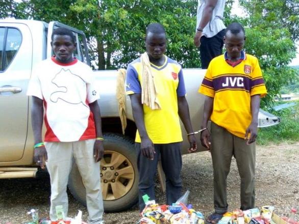 5 nigeriens arrested ghana