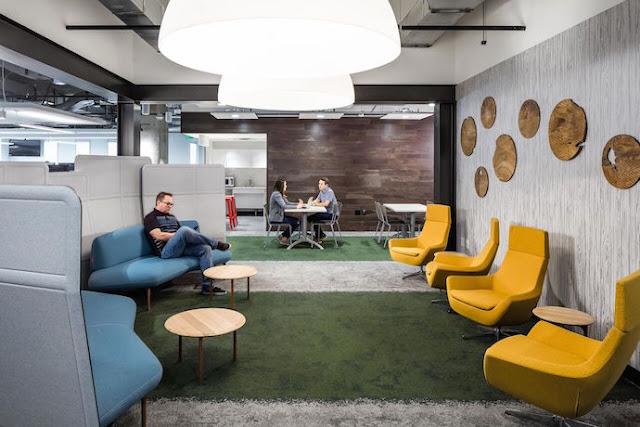 mẫu thiết kế nội thất văn phòng vừa đẹp vừa chuyên nghiệp