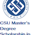 CSU Master's Degree Scholarship in Transportation Engineering in China 2018