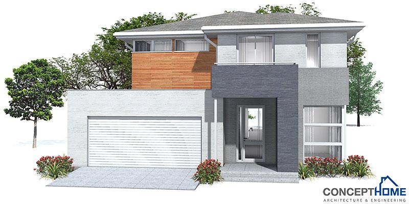 affordable home plans affordable modern house plan ch111. Black Bedroom Furniture Sets. Home Design Ideas