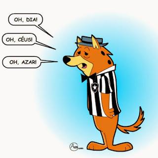 Pra não dizerem que só falo mal do Renan, vou falar bem agora: ele é Botafogo. Saco.