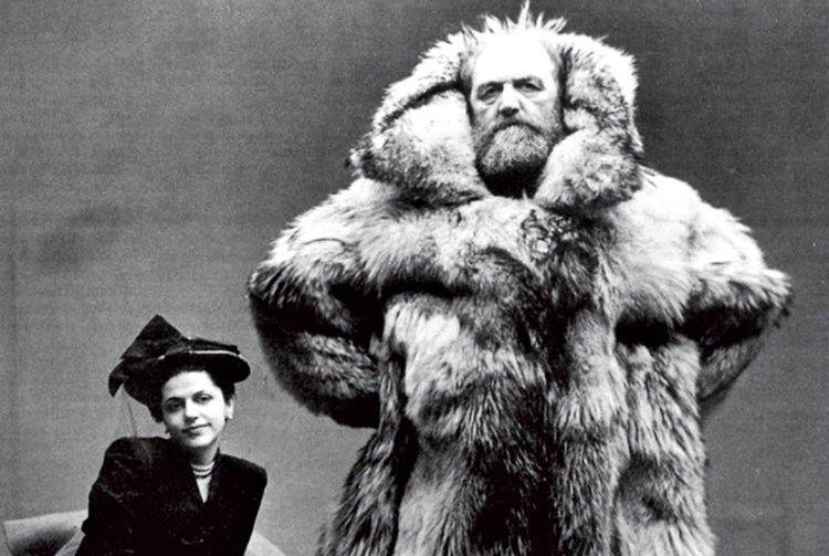 Peter Freuchen nam-ı diğer korkusuz adam enteresan bir insandı, 2 metrelik boyu bir korkutucu görünmesine neden oluyordu.