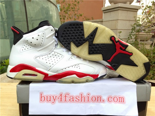 sneakers for cheap 7cd61 b08fc 雅馨阁: Authentic Air Jordan 6 Retro Bulls varsity from www ...
