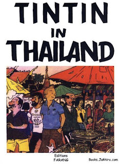 tintin in thailand in english