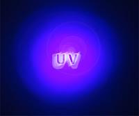 Mor ötesi ışık yayan UV sözcüğü