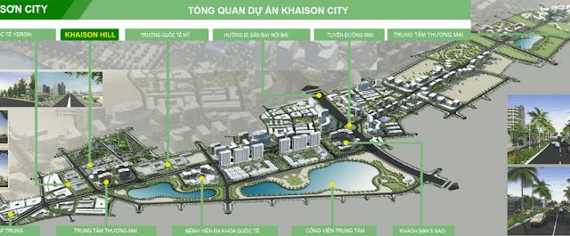 Tổng thể dự án Khai Sơn City