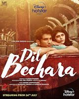Dil Bechara (2020) Full Movie [Hindi-DD5.1] 720p HDRip ESubs Download