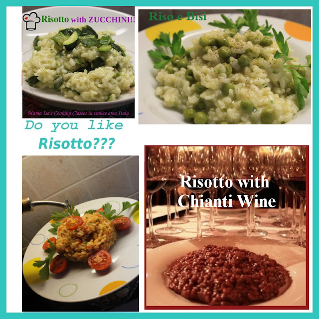 Risotto Cooking Classes at Mama Isa's Cooking Classes near Venice Italy