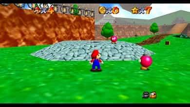 Jogo Mario 64 do N64