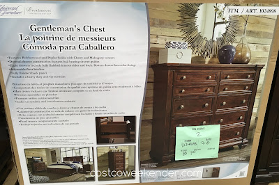 Costco 1024898 - Universal Furniture Broadmoore Gentleman's Chest - great for any bedroom