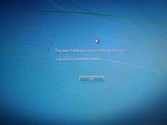 "Cara Mengatasi Error ""User Profile Service Failed the Logon"" Saat Menghidupkan Windows 7"