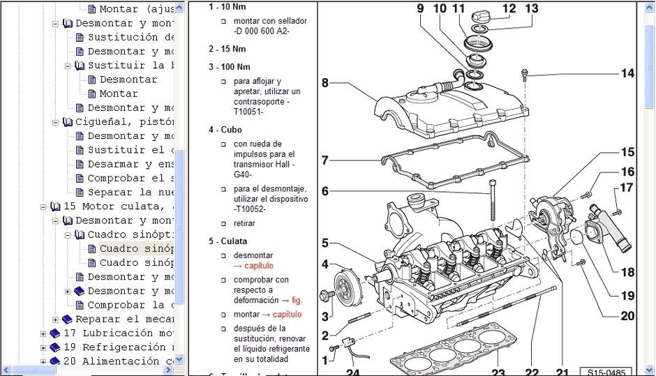 skoda diagrama de cableado de autos