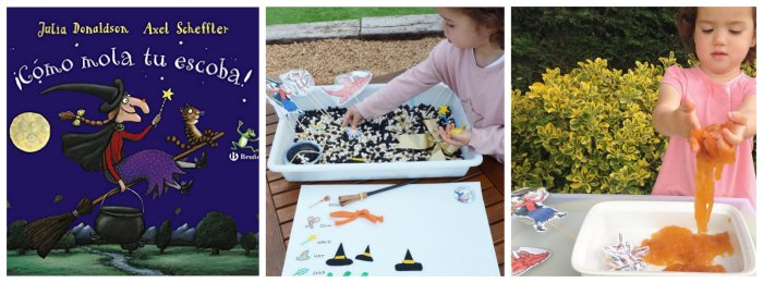cuentos infantiles imprescindibles con juego sensorial como mola escoba