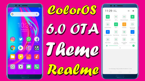 COLOR OS THEMES DOWNLOAD : OPPO THEME DOWNLOAD & REALME THEME DOWNLOAD and color os 6 theme for all oppo and realme