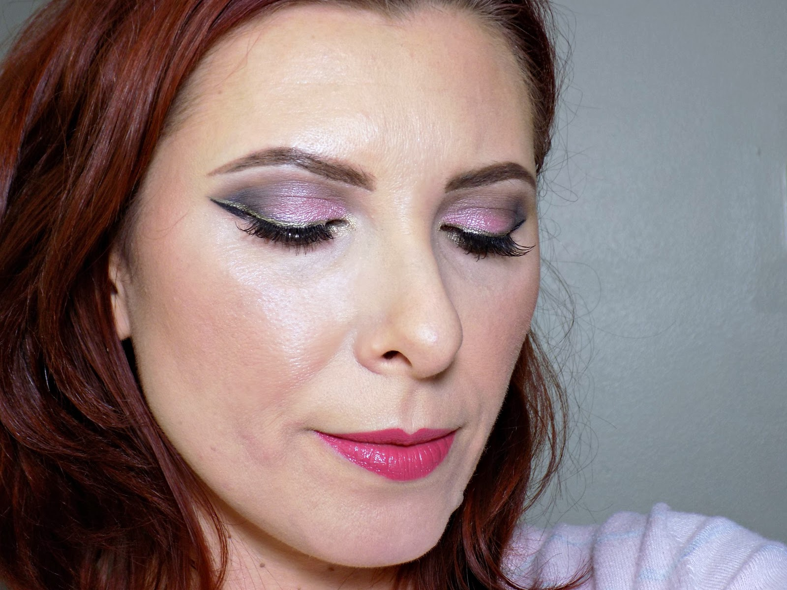 Valentine's Day makeup look