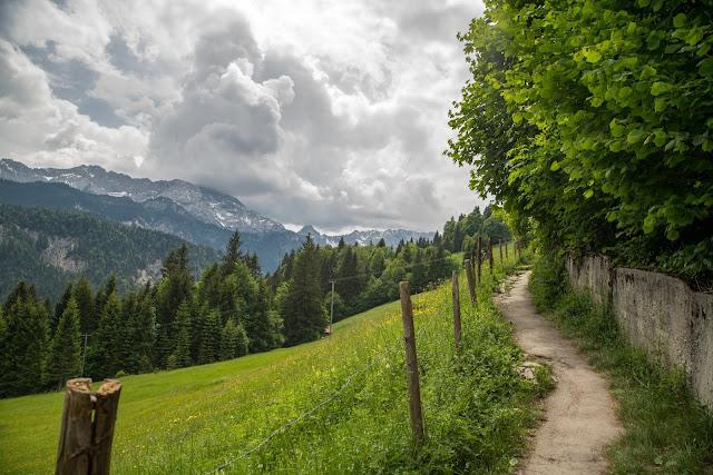 Hausberg-Runde und Partnachklamm  Wanderung Garmisch-Partenkirchen 01