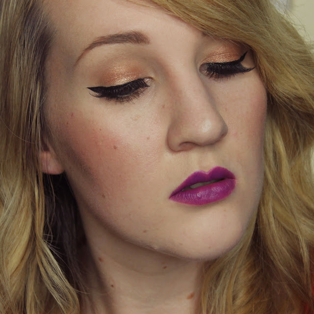 Gerard Cosmetics Lipsticks - Grape Soda Swatches & Review