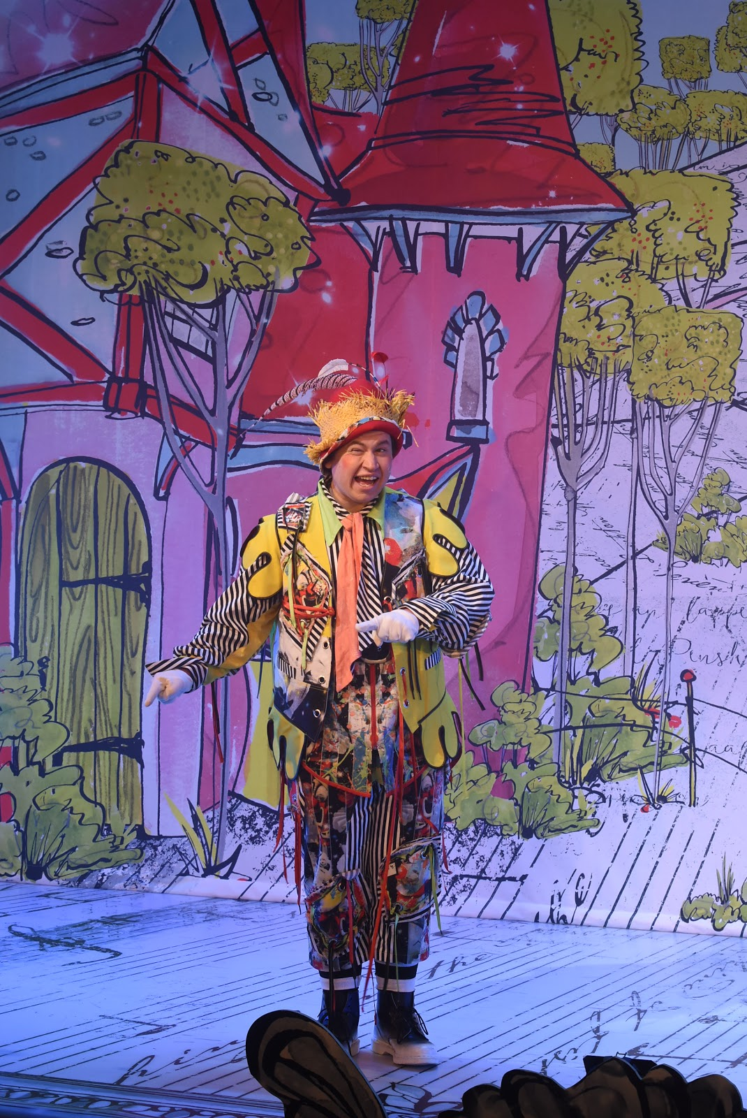 David John Hopper in The Lambton Worm Pantomime at The Customs House South Shields