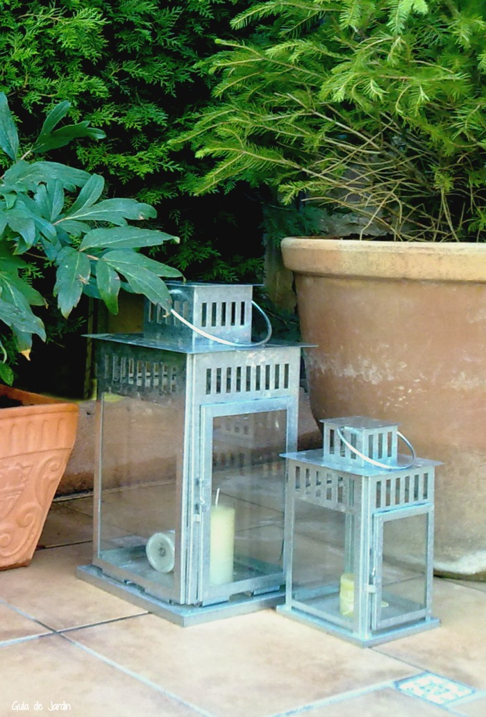 Faroles de jardín