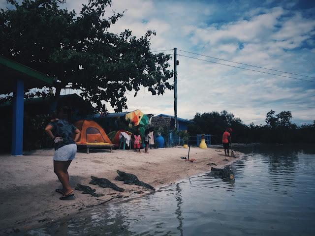 Camp Site in Olango