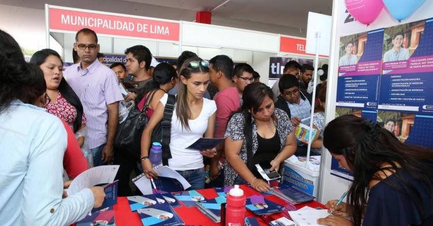Cerca de 10 mil puestos de trabajo en feria «Semana del Empleo, en el Parque de La Muralla, Cercado de Lima - www.trabajo.gob.pe