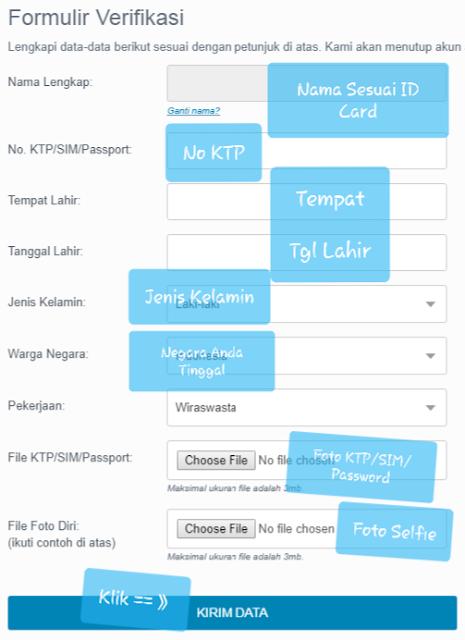 Panduan Cara Buat Akun di Lokal Exchanger Indodax