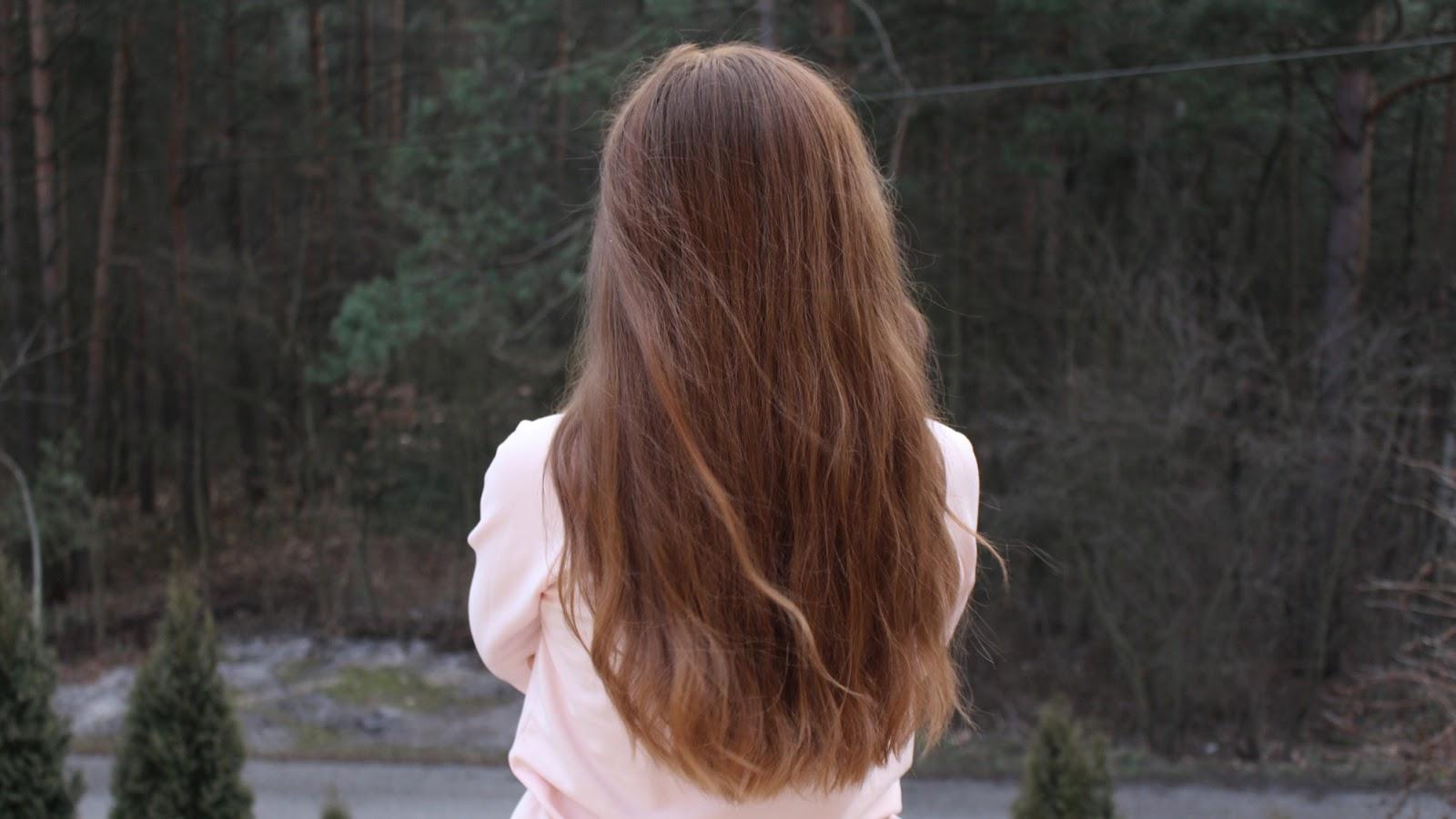 Moje włosy aktualnie