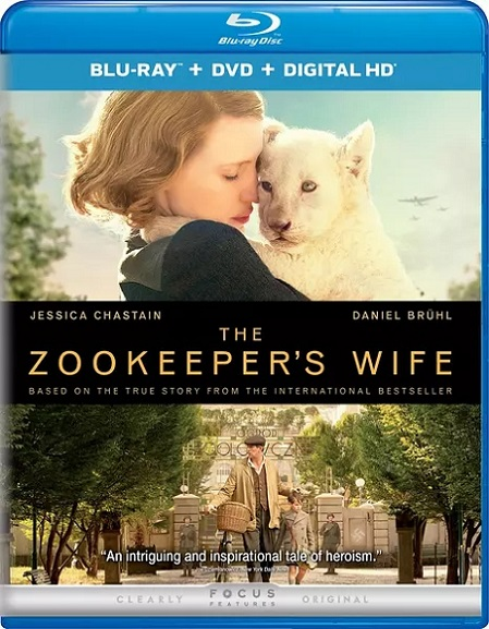 The Zookeeper´s Wife (La Casa de la Esperanza) (2017) 720p y 1080p BDRip mkv Dual Audio DTS 5.1 ch