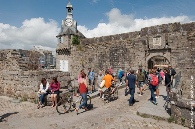 Concarneau visita turismo viaje Bretaña