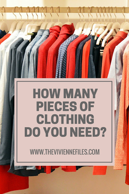 How Many Pieces of Clothing Do You Need? A New Year's Thought...