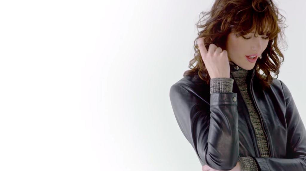 modello modella testimonial conbiper collezione pelle 2016