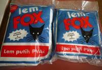 harga lem fox 350 gram