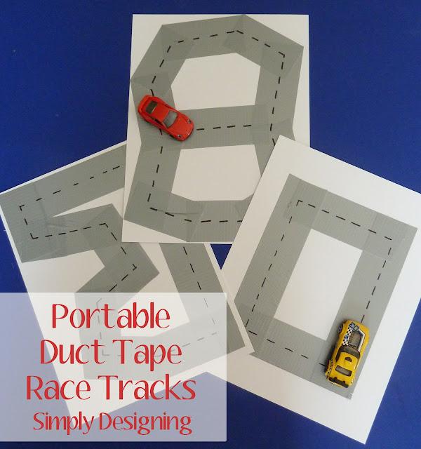 tacks05a DIY Duct Tape Race Tracks {Boredom Buster} 31