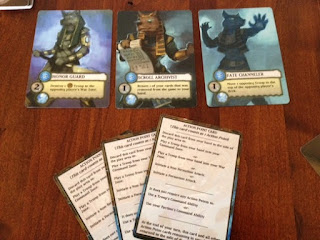Tooth and Nail factions game cards