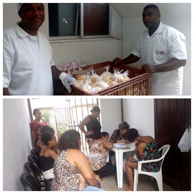 Projeto social pão e leite, mais uma iniciativa do CCSSVO e 12ª CIPM