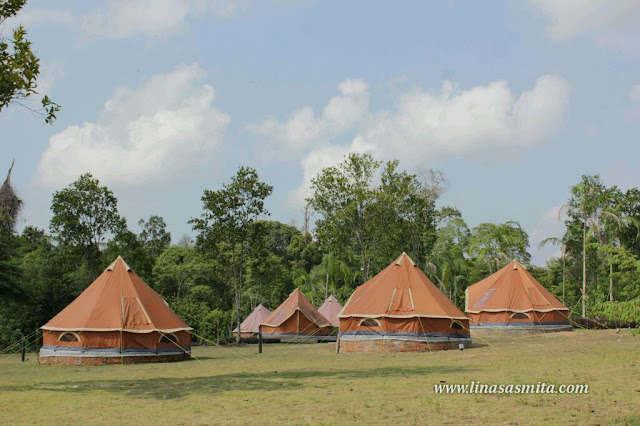 D'Bamboo Kamp Desa Wisata Ekang Pulau Bintan