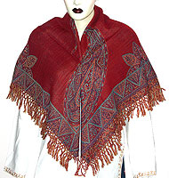 Poncho Style Scarf