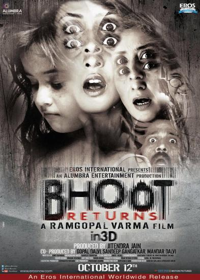 New Poster Of Bhoot Returns - Manisha Koirala