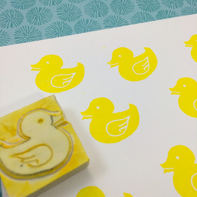 Handmade Rubber Stamps, Just Pretty Prints