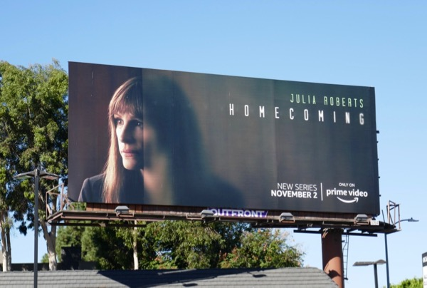 Julia Roberts Homecoming series billboard