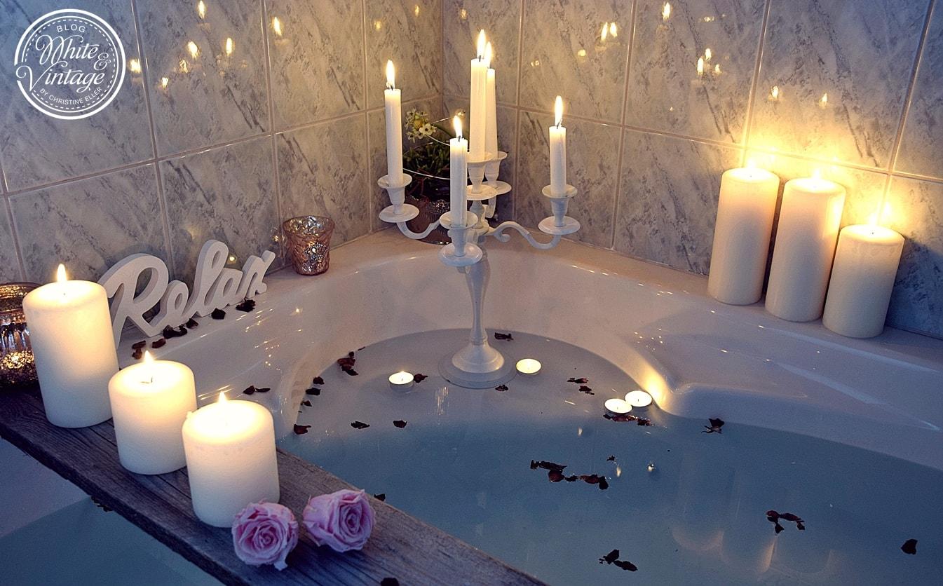 Dekotipps fürs Badezimmer: Deko und DIY Blog White and Vintage