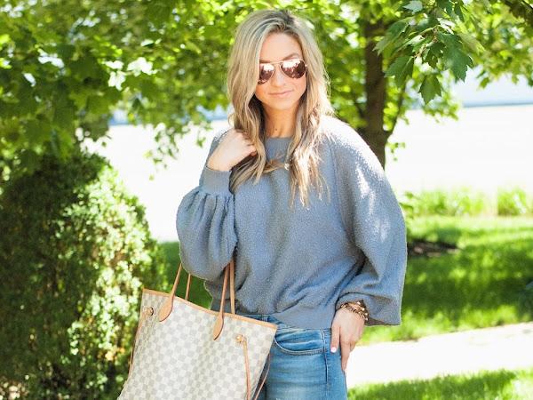 Cozy Spring Sweatshirt
