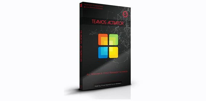 Teamos Activator mới nhất active Windows 10 bản quyền