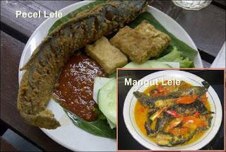 Mangut Lele dan Pecel Lele Merupakan Makanan Olahan yang Diminati