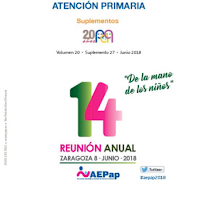 Ponencias de la 14.ª Reunión Anual de la Asociación Española de Pediatría de Atención Primaria (AEPap)
